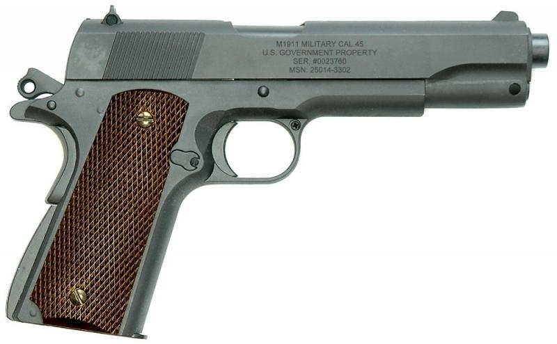 Art-Nr.: 10215, US Army M1911 A1 Vollmetall 6mm SPRING